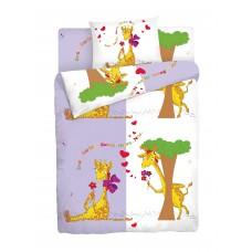 Детское постельное белье Мармелад Жираф