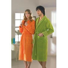 """Махровый халат """"ANGORA"""" S,M,L Оранжевый"""