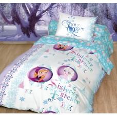Детское постельное белье из ранфорса DISNEY FrozenSisters