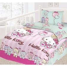 Детское постельное белье из бязи HELLO KITTY ясельное