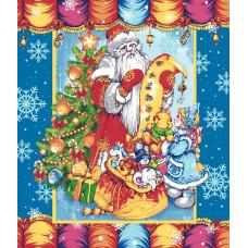 """Полотенце кухонное 50*60 """"Письмо Деду Морозу 1"""