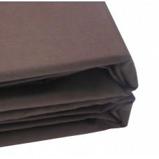 Пододеяльник цвет шоколадный 100-3А
