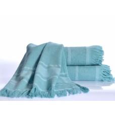 DURU Halikarnaz (бирюза) Полотенце пляжное